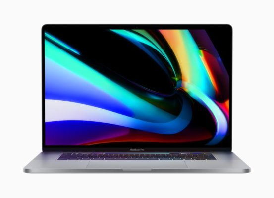 Apple представила MacBook Pro 16 дюймов