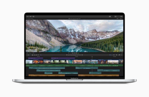Мощный процессор и высокоскоростная память MacBook Pro 16 дюймов